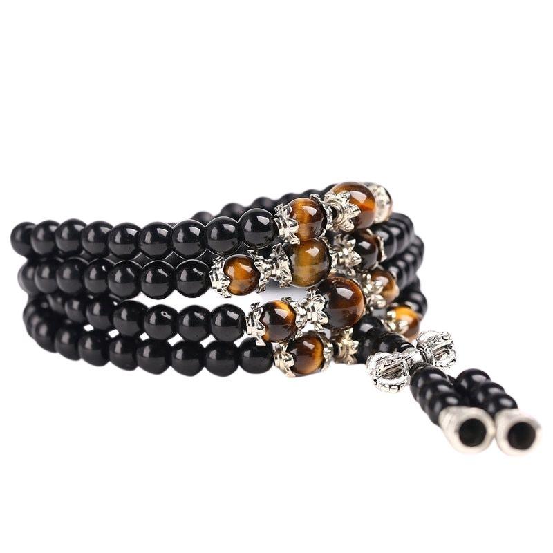 Bracelet-Collier MALA TIBETAIN 108 perles