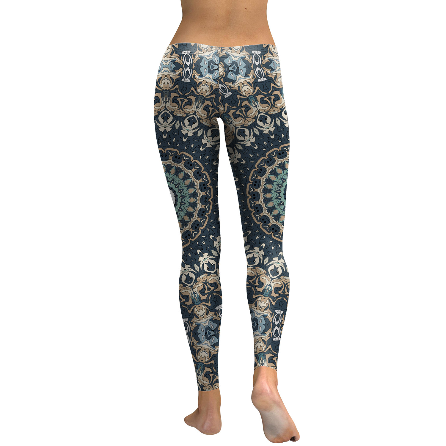 Legging Sport Gym Yoga Beautiful Mandala