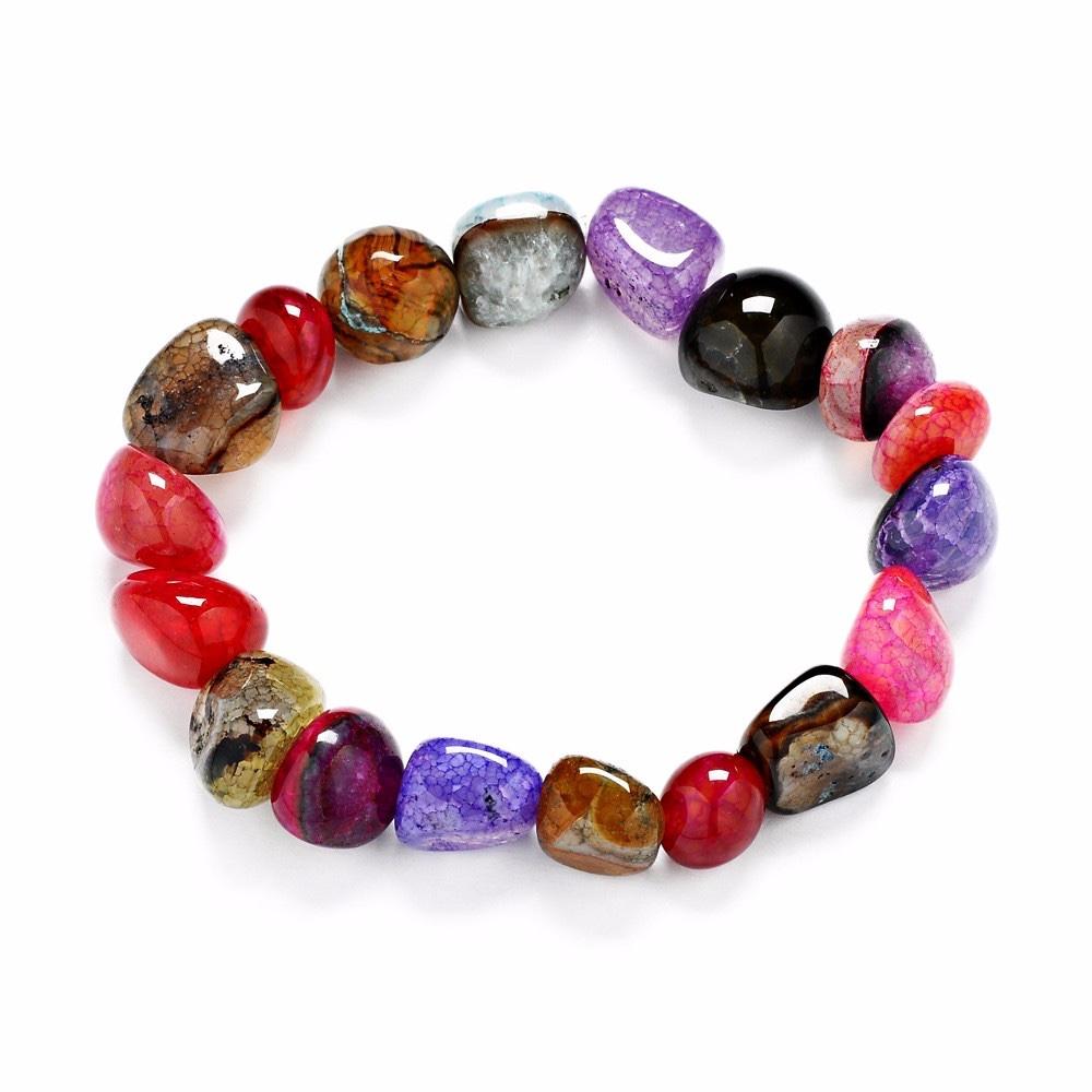 Bracelet de Perles Agates