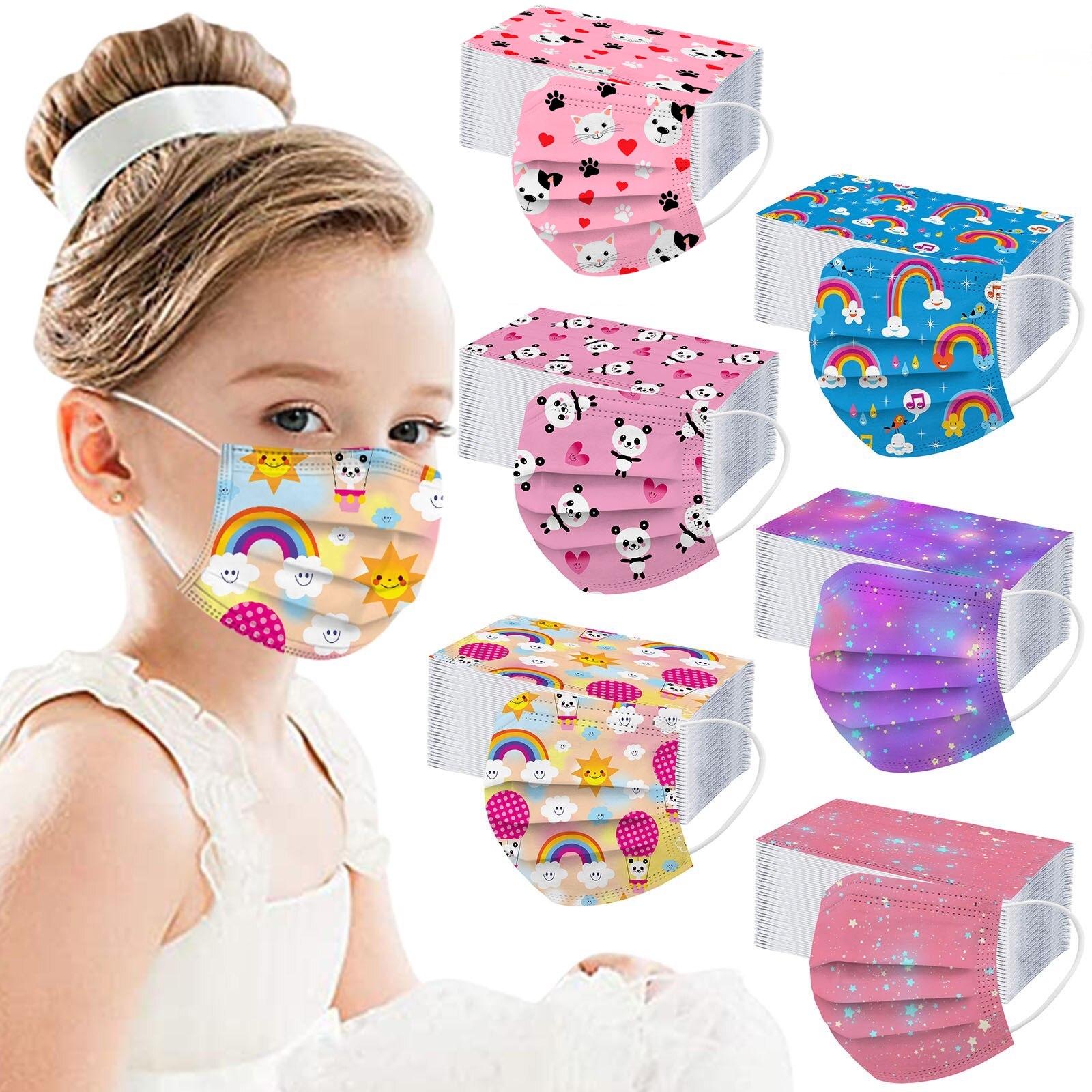 Masques Enfants DESSINS ANIMÉS 50pces 26