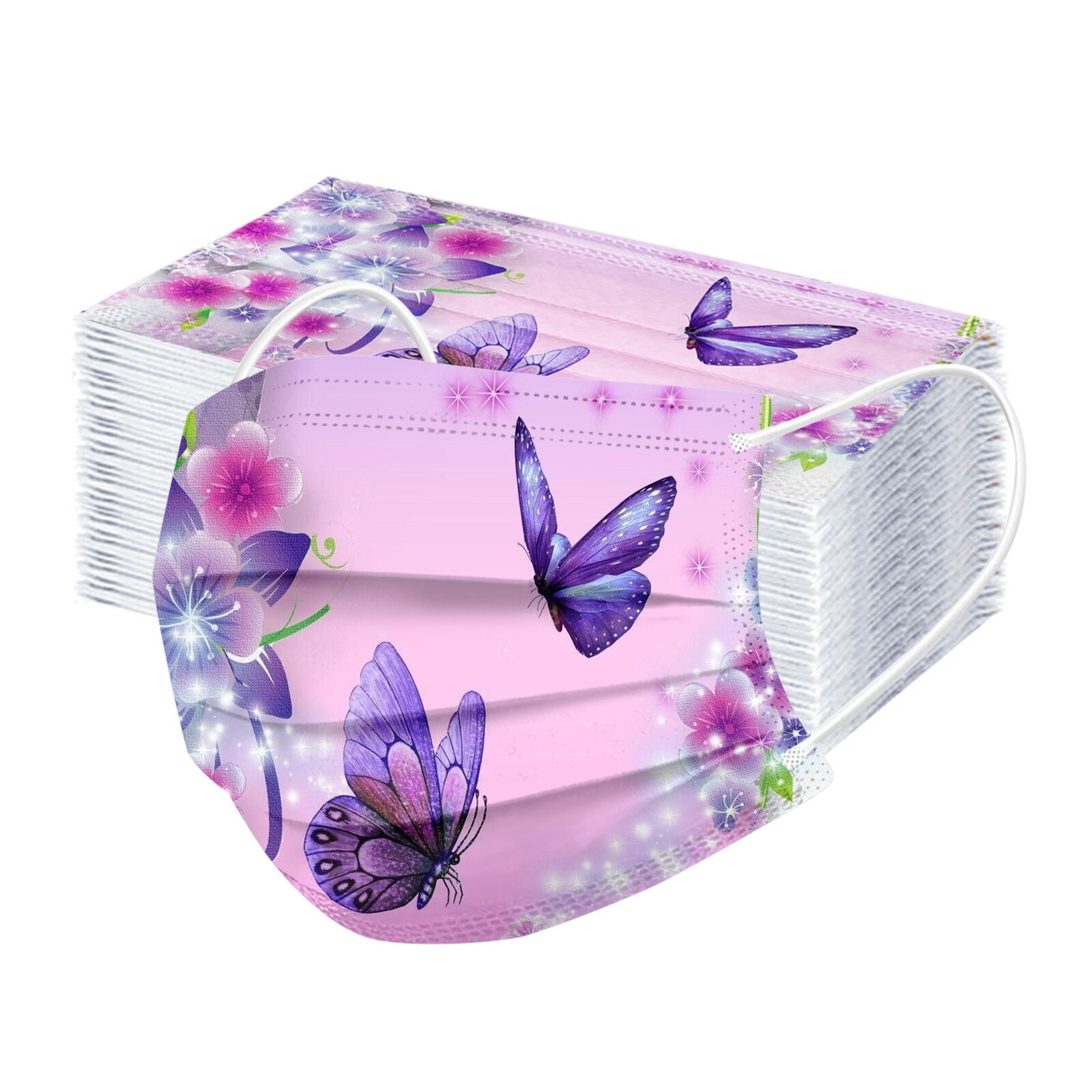 Masques Chirurgicaux Butterflies