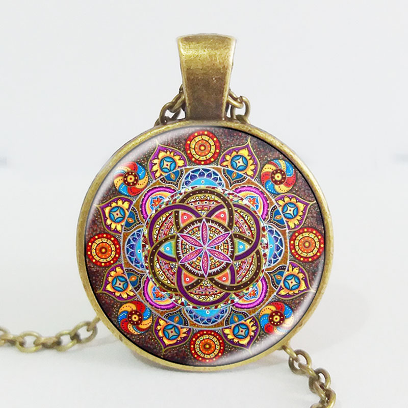 Collier Mandala Bronze