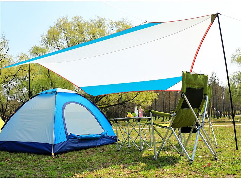 abri pluie soleil pique nique accessoires de voyage tente. Black Bedroom Furniture Sets. Home Design Ideas
