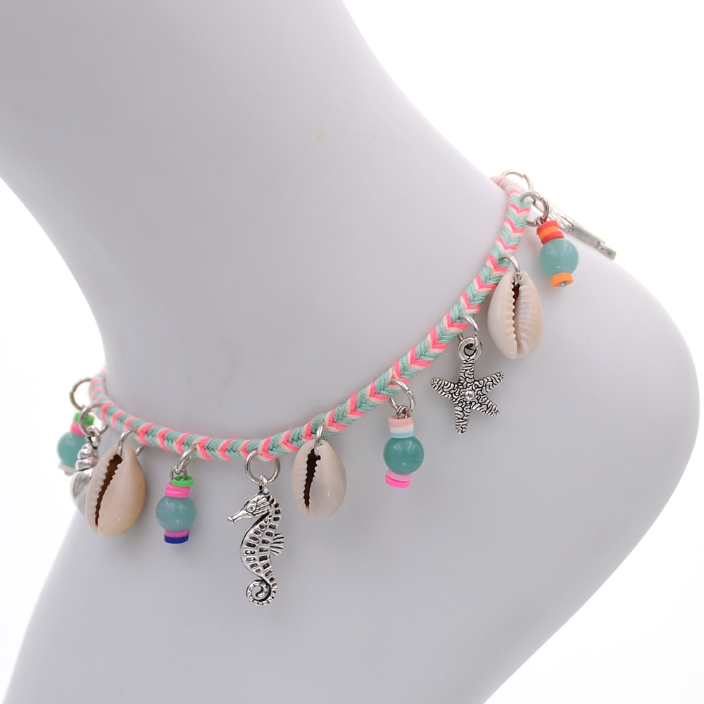 bracelet bijou fantaisie pour pied cheville