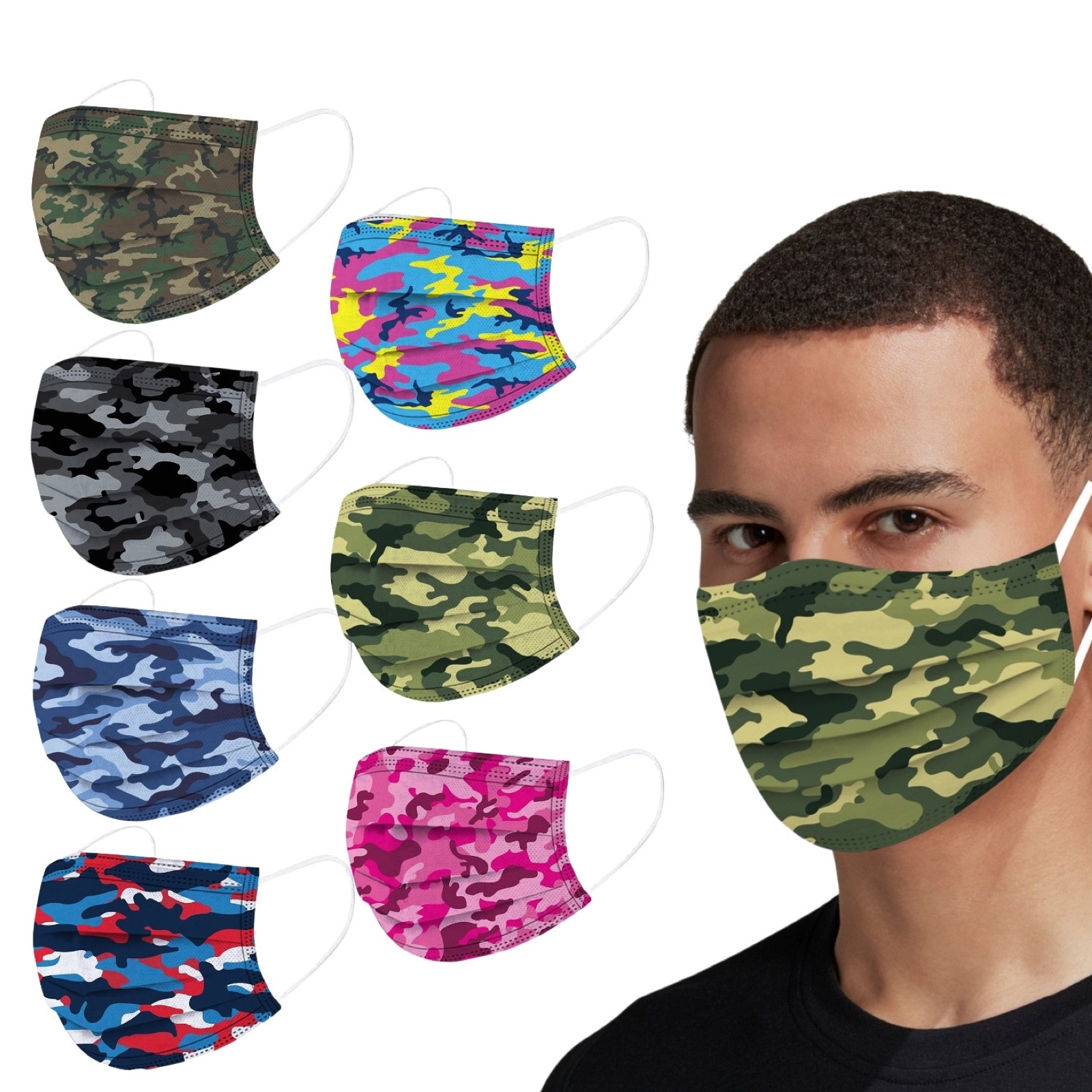 Masques CAMOUFLAGE adulte 13