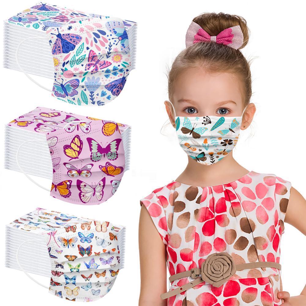 Masques enfant NATURE et PAPILLONS 3