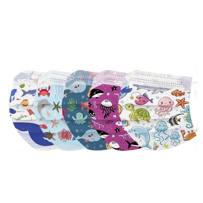 masques colorés pour enfant