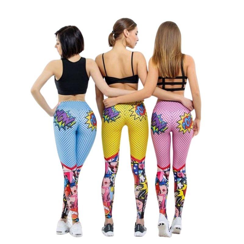 Leggings femme Yoga Fitness Gym Sport