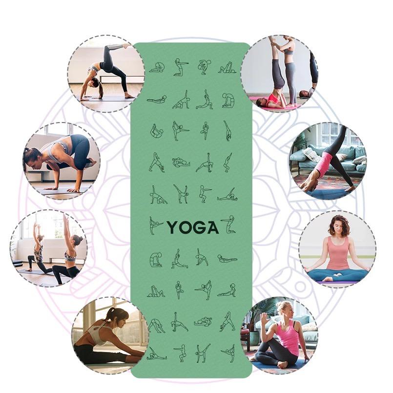 tapis de sol sport yoga fitness