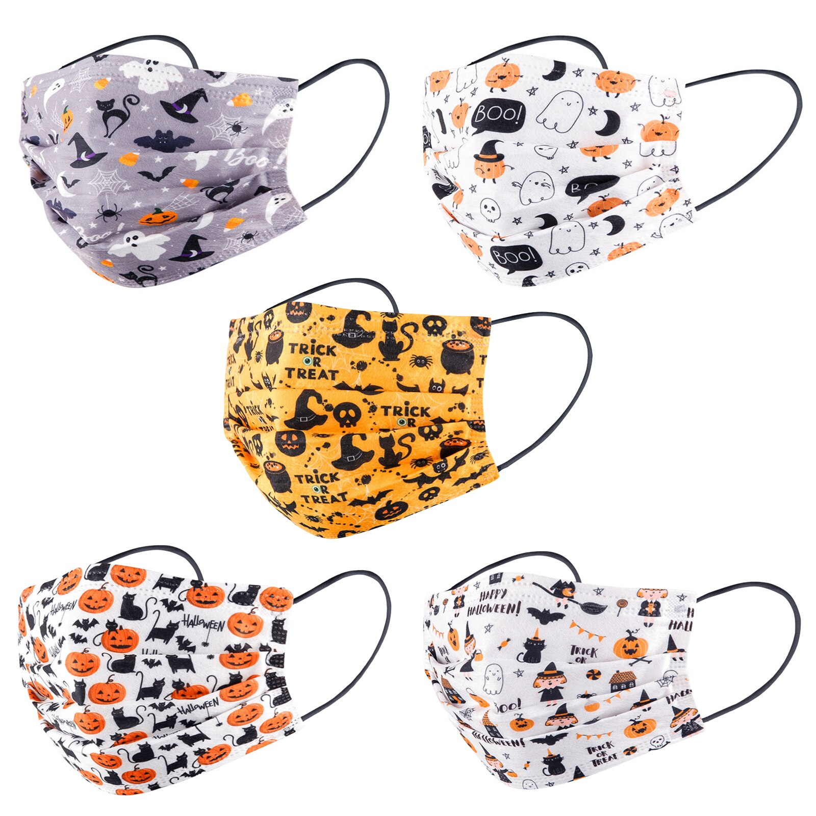 masques chirurgicaux adulte halloween