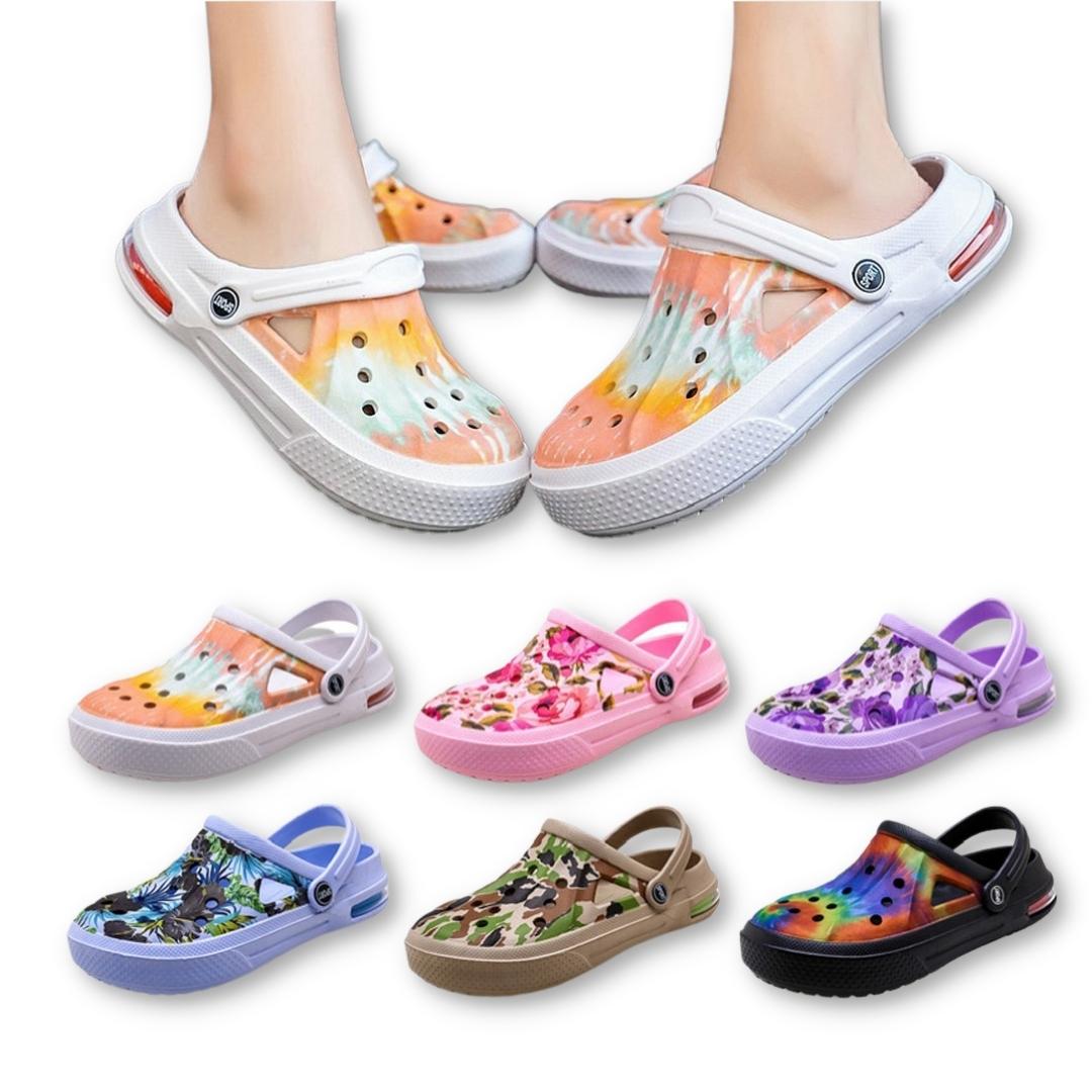 Sandales Pantoufles PLAGE-JARDIN