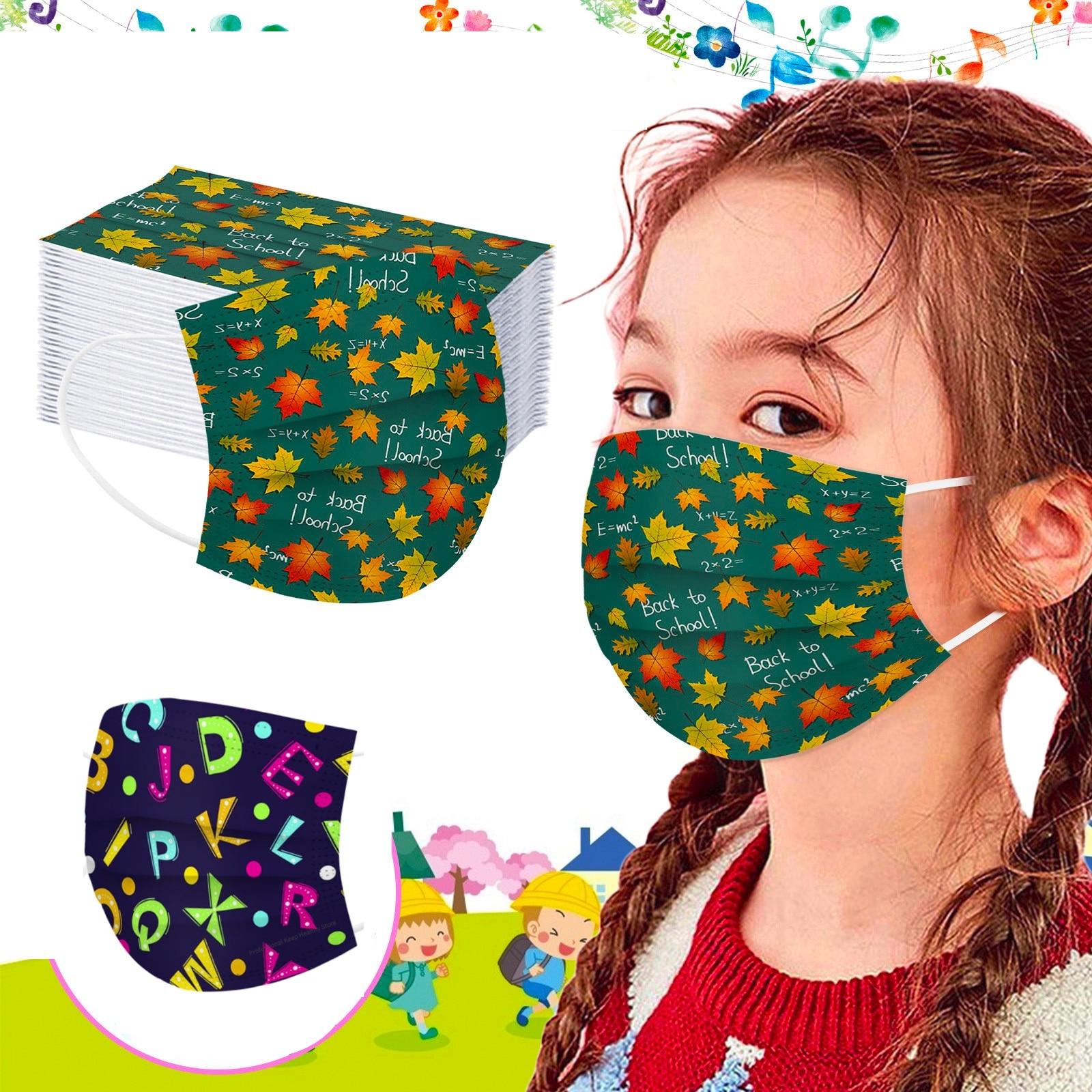 masques tissu pour enfant école de 5 à 13 ans