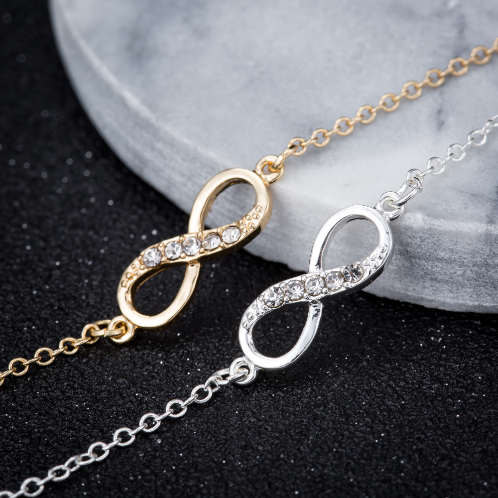 Bracelet Infinity Or ou Argent