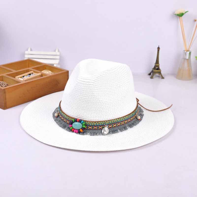 Chapeau de paille tressée Panama