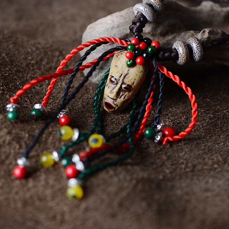 Collier Masque Africain
