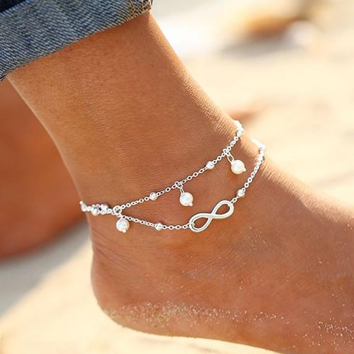 Bracelet de Cheville Plage Infinity