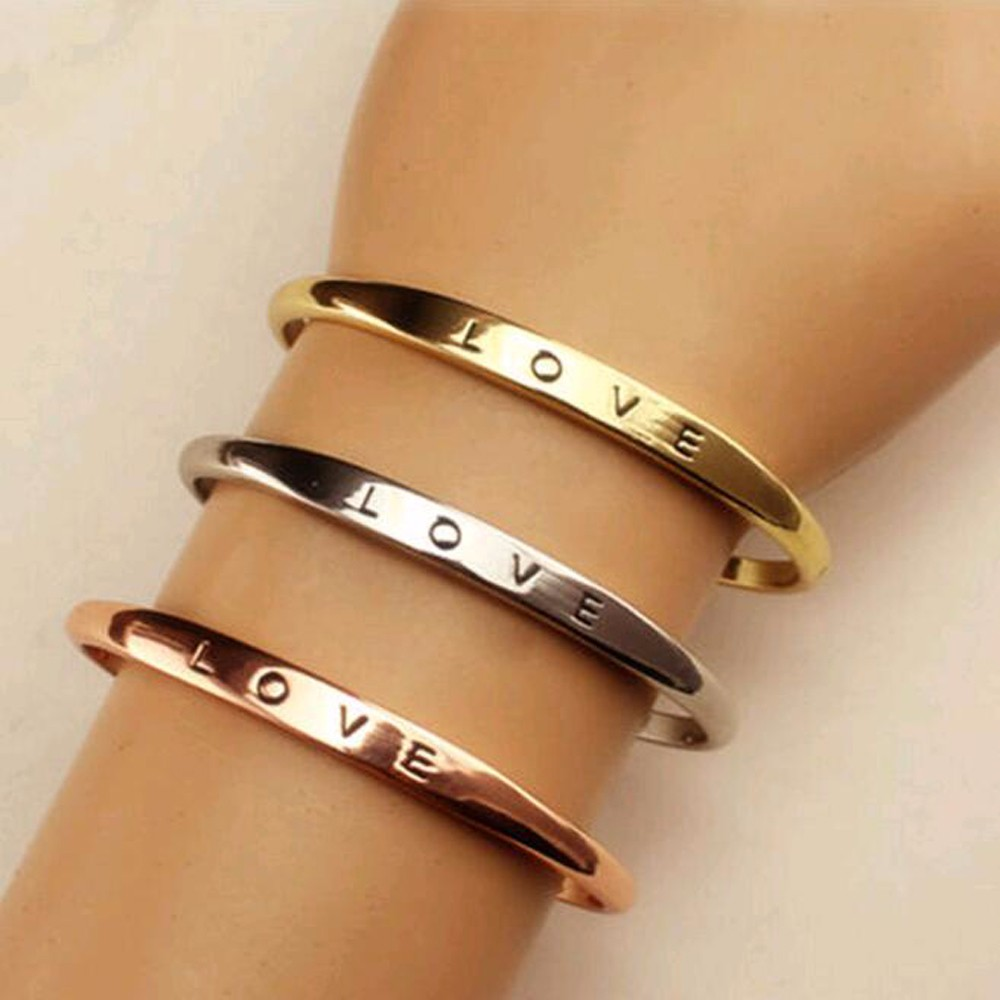 Bracelet métal Love