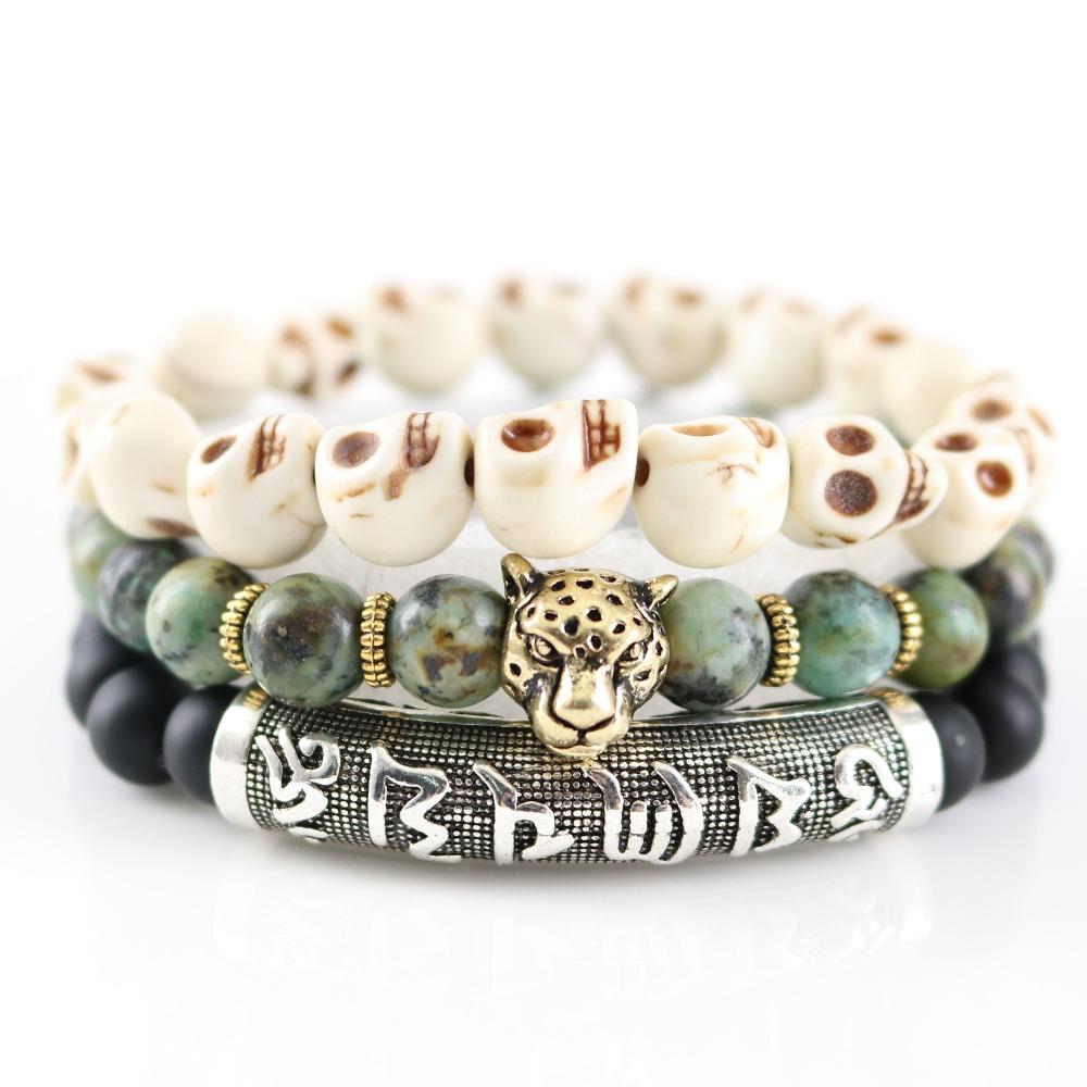 Bracelet à proverbes Léopard
