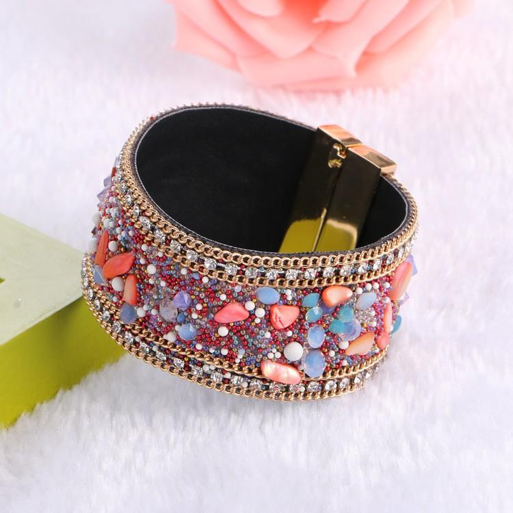 Bracelet Manchette Crystal