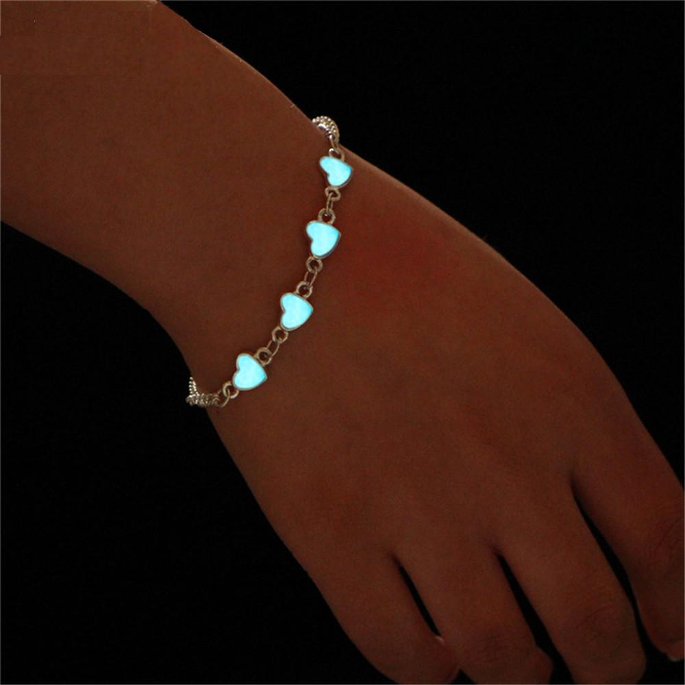 Bracelet Petits Coeurs lumineux
