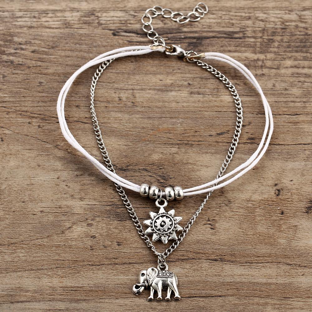 Bracelet de cheville Bohème-chic GoHappy Boho-Chic