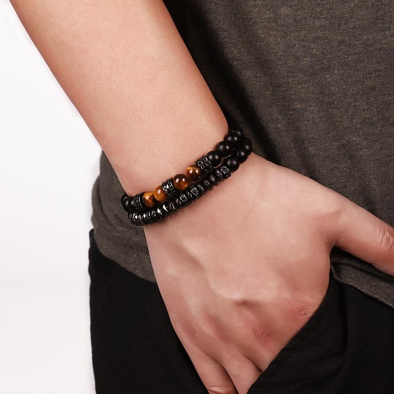 bracelet femme oeil de tigre