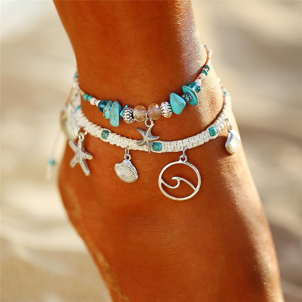Bracelet de cheville Cocobeach