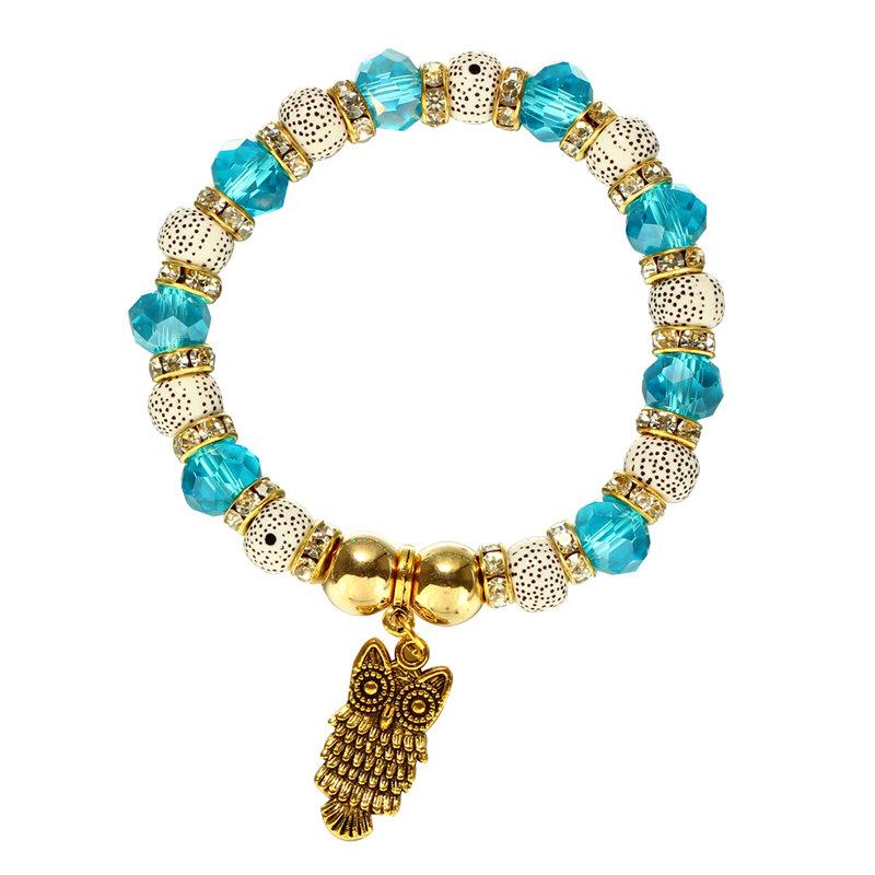 Bracelet Charms Hibou