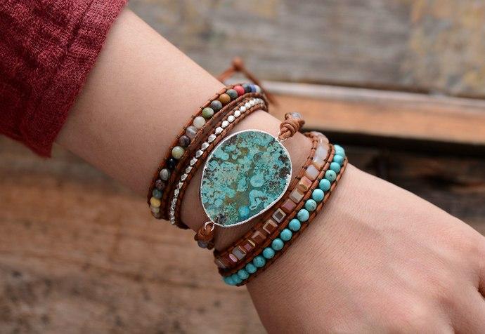 bracelet en pierres, lithothérapie