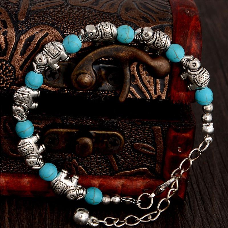 Bracelet Eléphants