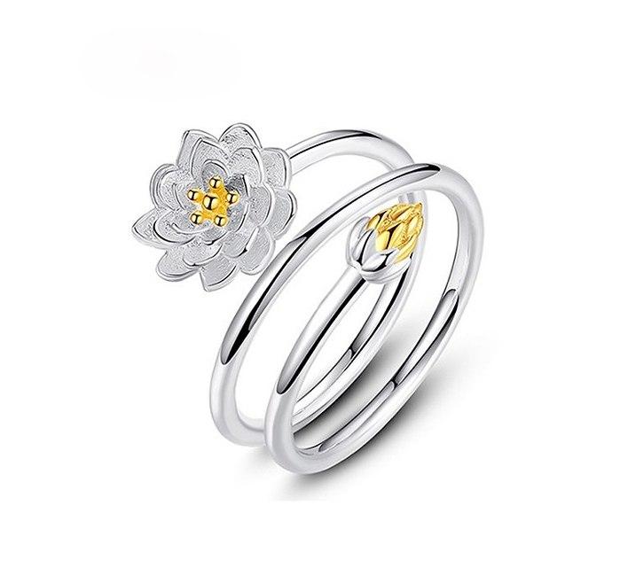 Bague Femme Fleur de Lotus