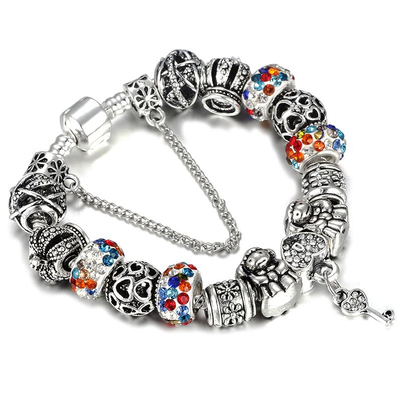Les Petits Love Bracelets en argent