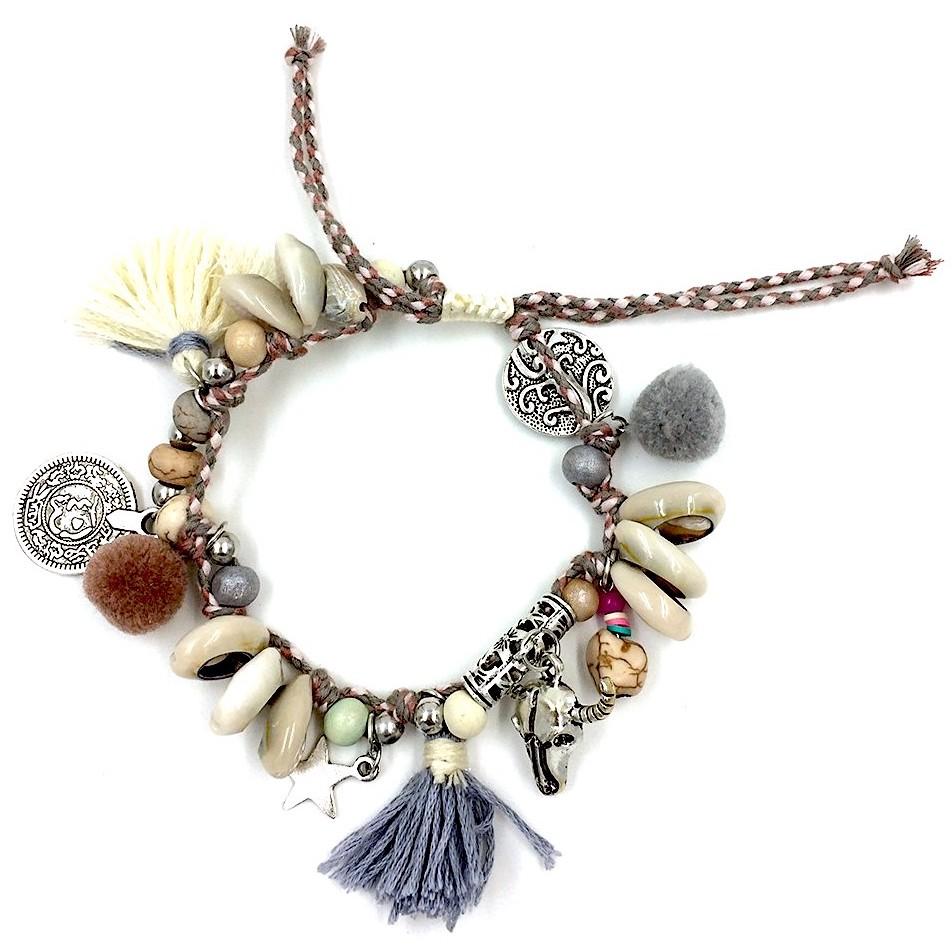Bracelet de cheville Hippie chic