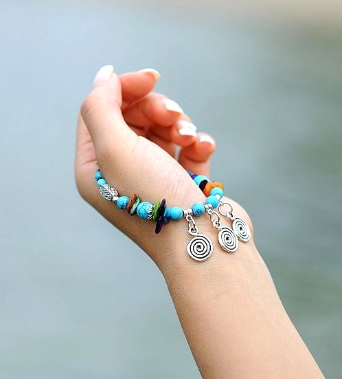 Bracelet Blue Charming