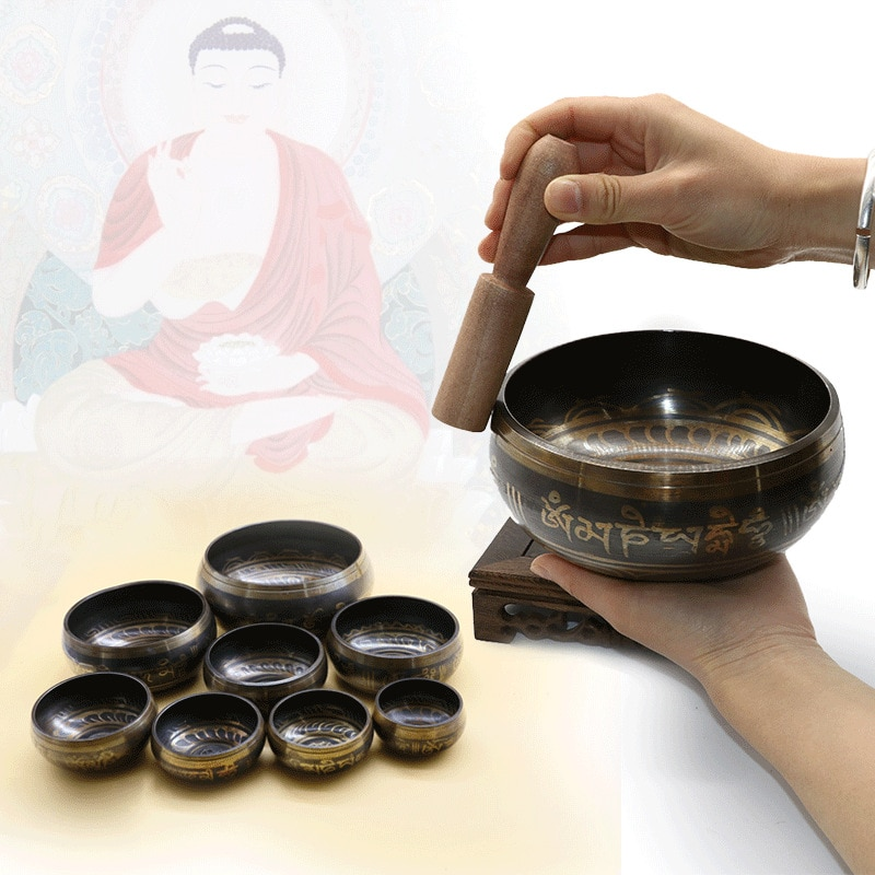 Bols Chantant Artisanat Tibétain