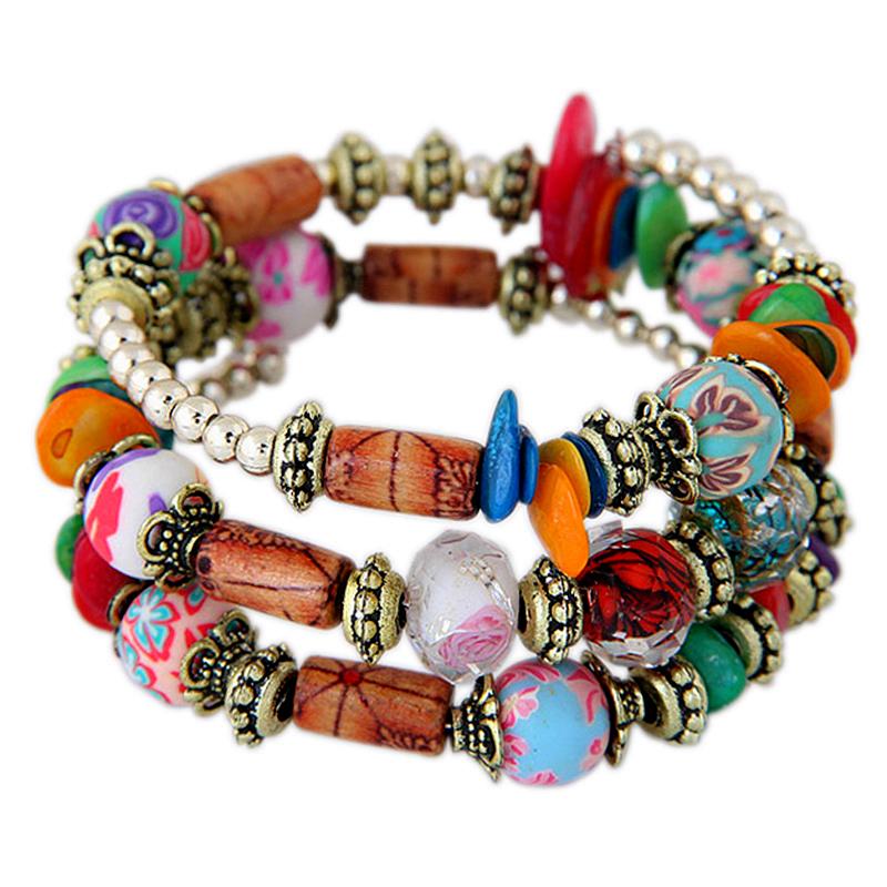 Bracelet Bohemia rouge