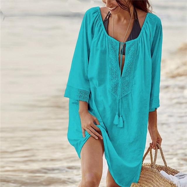 Tenue de plage Coton