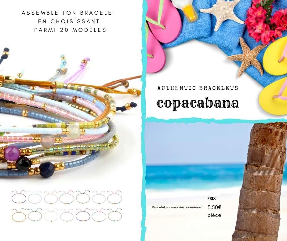 bracelet brésilien amitié bijou fantaisie bohème