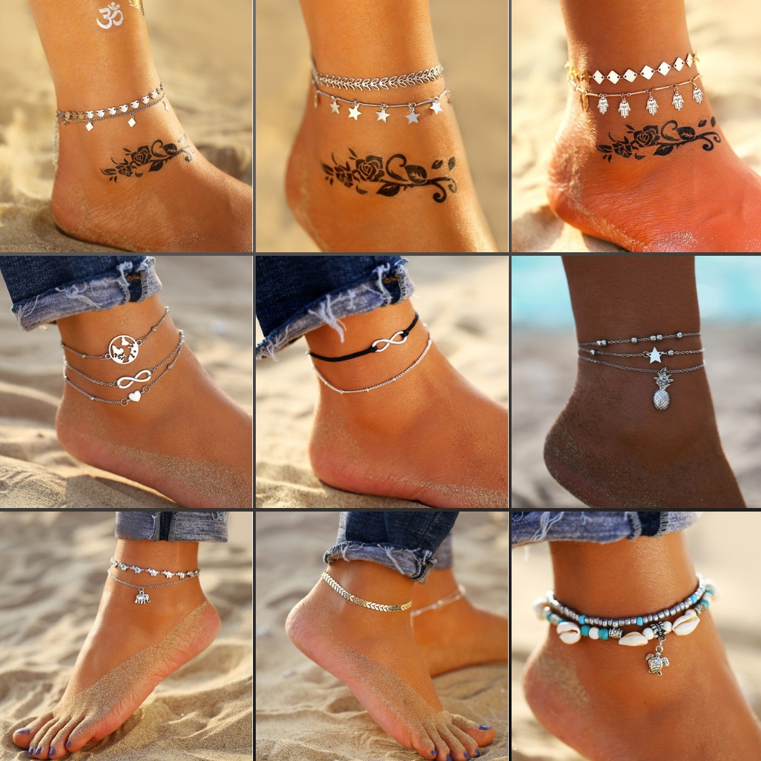 Bracelets Cheville Bohemian Style