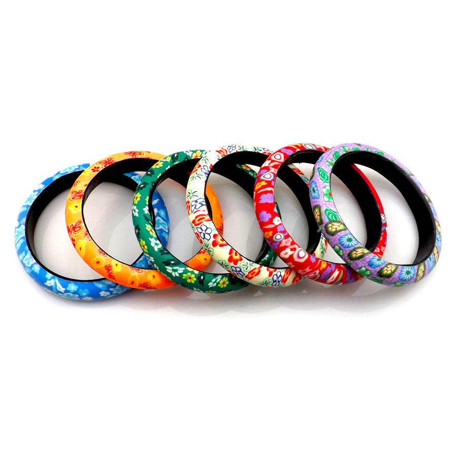 Bracelet Fleurs d'Asie 1