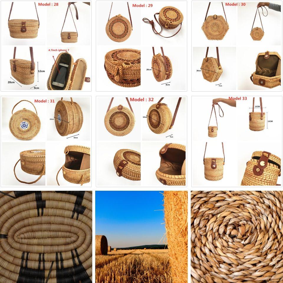 panier en osier, sacs à main en paille, paniers et sac en rotin, accessoire femme sac à main osier