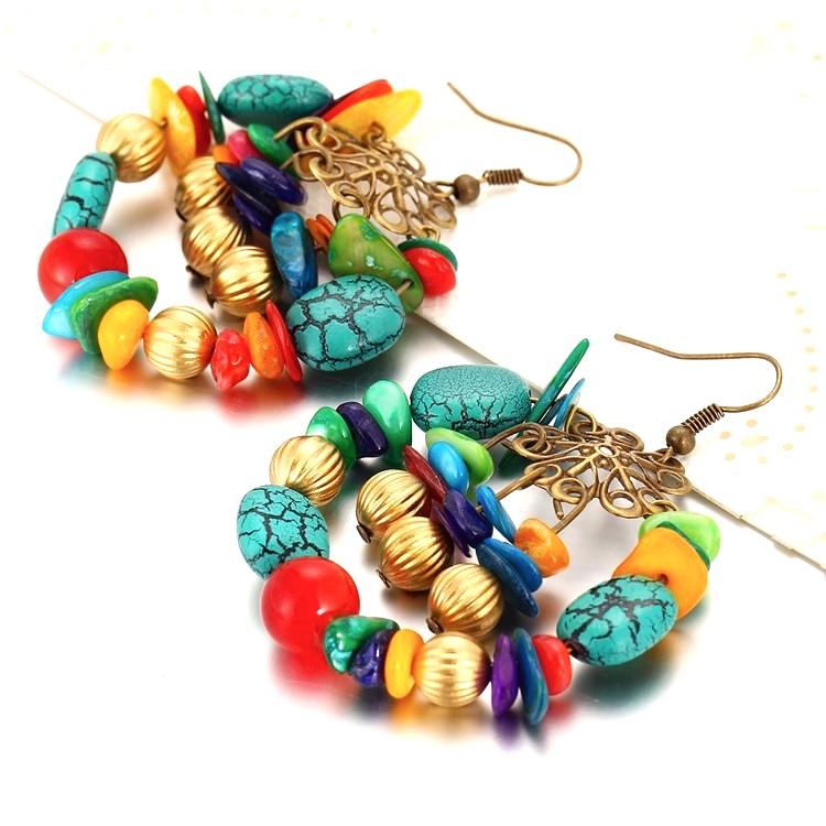 Boucles d\'oreille Bhoutan