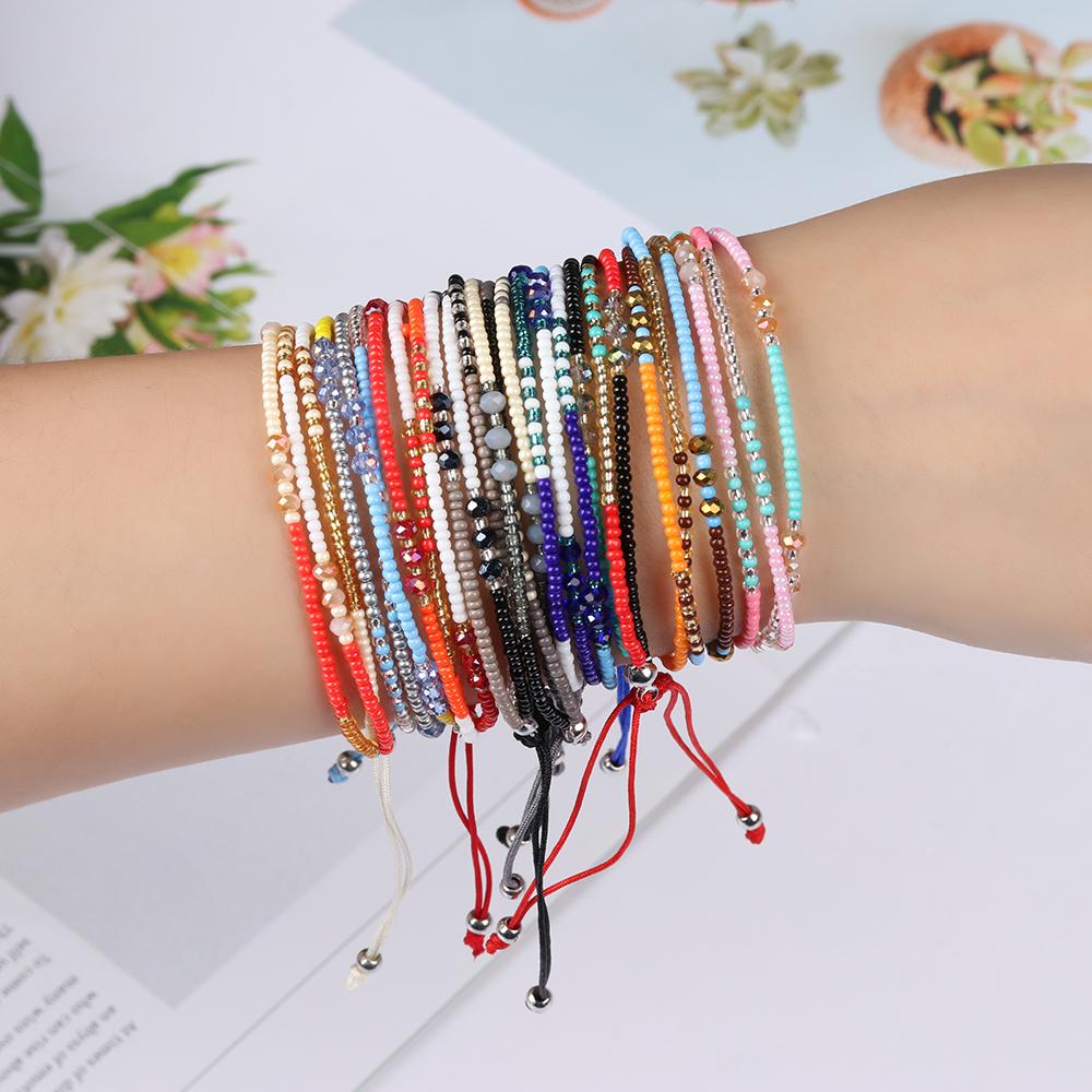 bracelets perles puravida amitié brésilien