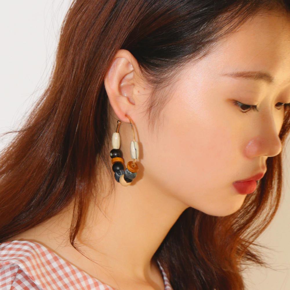 Vente boucles d'oreille earring bijoux oreille bohème chic GoHappy