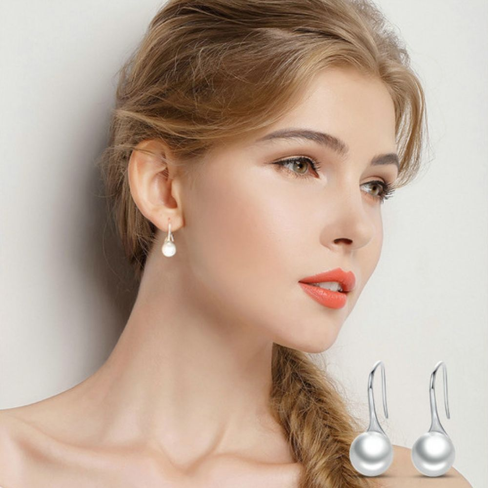 Boucles d\'oreille Perles de Tahiti