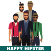Happy Hipster