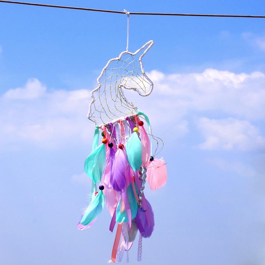 attrapeur de rêves licorne unicorn