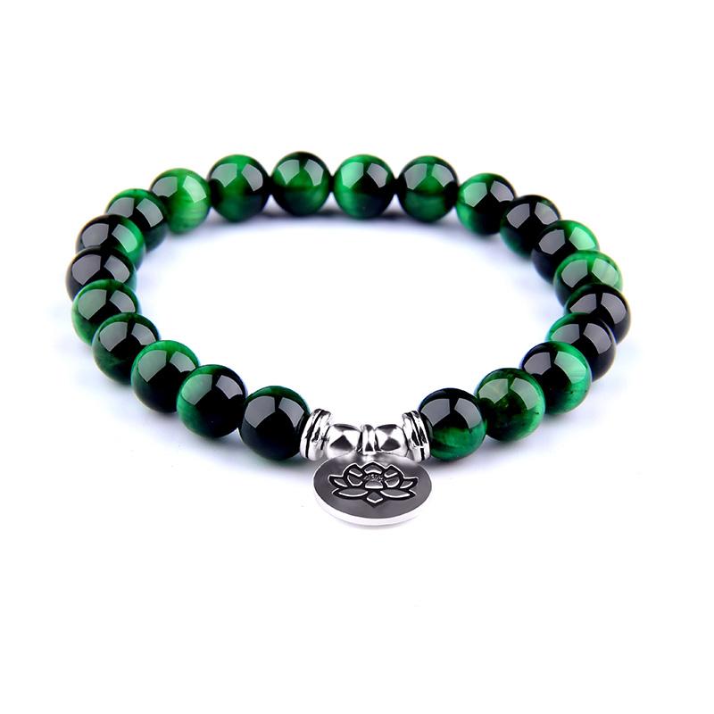 bracelet en perles homme femme pierres naturelles