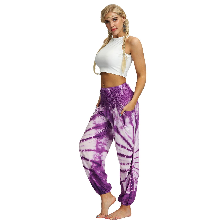 Sarouel Pantalon de méditation Femme Yoga