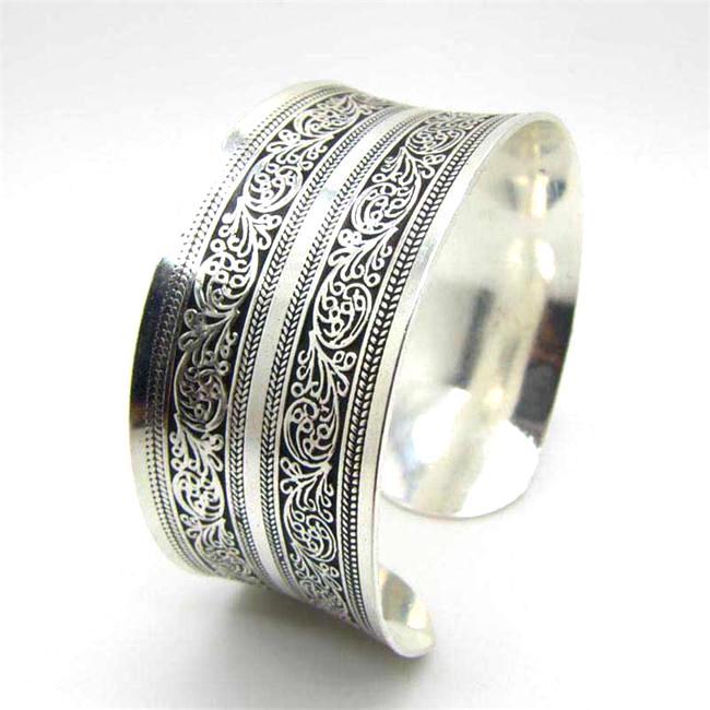 Bracelet en argent Tanger